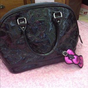 Black hello kitty purse